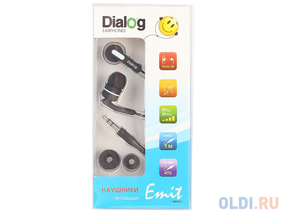Фото - Наушники Dialog EP-F15 black наушники dialog ep 03 белый