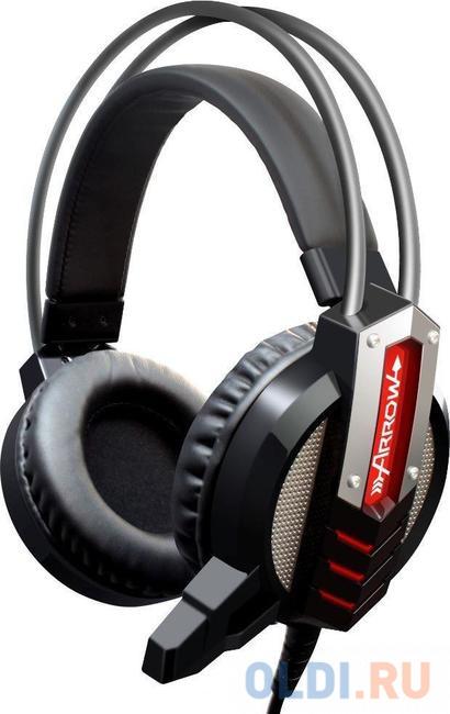 Гарнитура Oklick HS-L450G ARROW черный 2.2м мониторы (HS-L450G)