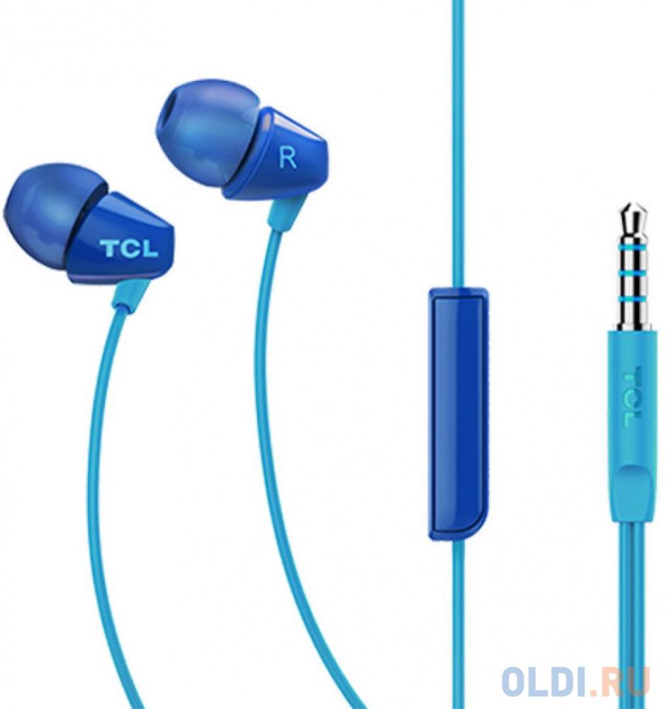 Наушники (гарнитура) TCL SOCL100BL-EU Blue