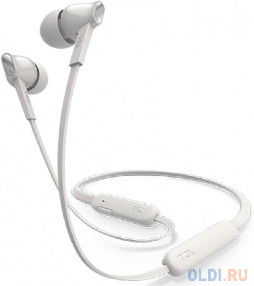 Наушники (гарнитура) TCL MTRO100BTWT-EU White