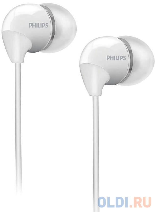 Наушники (гарнитура) Philips SHB3595WT/10 White