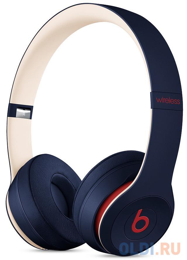 Гарнитура Apple Beats Solo3: Beats Club синий MV8W2EE/A наушники beats solo3 club collection yellow mv8u2ee a