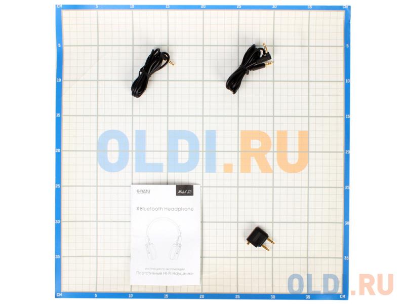 Наушники беспроводные GiNZZU® GM-571BT, S5, черные, наушники/гарнитура Bluetooth