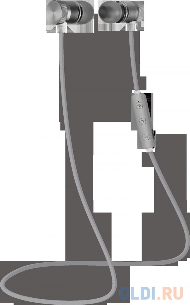 Гарнитура Defender OutFit B710 черный+белый, Bluetooth