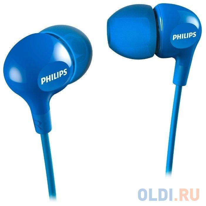 Наушники (гарнитура) Philips SHE3555BL/00 Blue