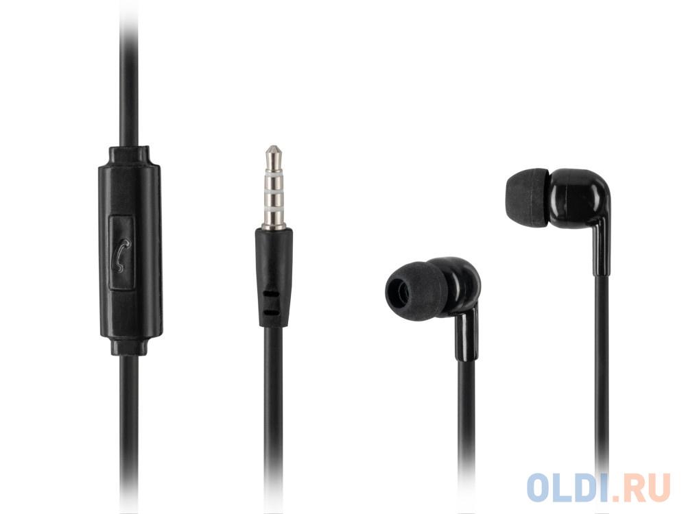 Наушники HARPER HV-106 / Проводные / Внутриканальные с микрофоном / Черные / 20 Гц - 20 кГц / Двухстороннее / Mini-jack / 3.5 мм недорого