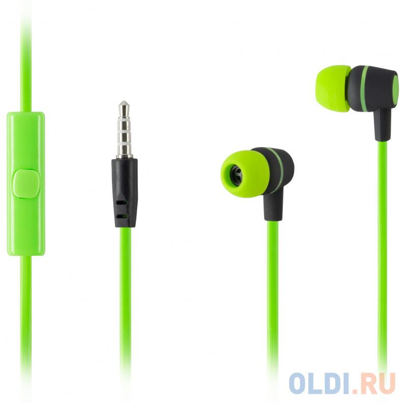 наушники xiaomi mi headphone comfort white проводные накладные с микрофоном белый 20 гц 40 кгц 107 дб двухстороннее mini jack 3 5 мм Наушники HARPER HV-107 / Проводные / Внутриканальные с микрофоном / Зеленые / 20 Гц - 20 кГц / Двухстороннее / Mini-jack / 3.5 мм