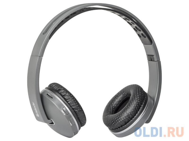Гарнитура Defender FreeMotion B510 темно-серый, Bluetooth