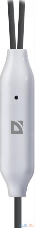 Гарнитура Defender Pulse-460 серый+белый, вставки