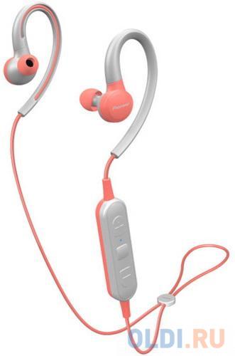 Гарнитура Pioneer SE-E6BT-P розовый серый