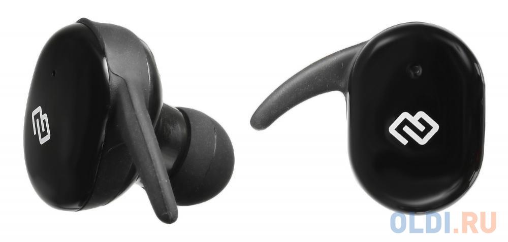 Гарнитура вкладыши Digma TWS-05 Touch черный беспроводные bluetooth (в ушной раковине) гарнитура digma tws 06 черный