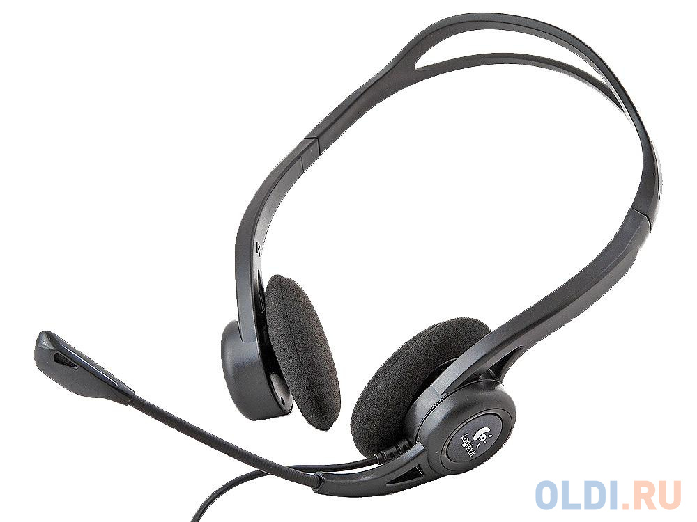 (981-000100) Гарнитура Logitech Headset 960 USB гарнитура logitech headset zone wired uc 981 000875 серые