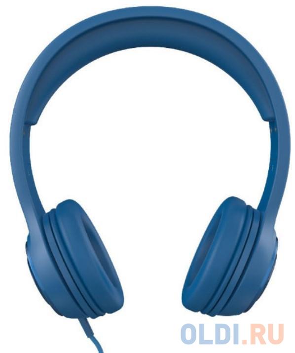Наушники iFrogz Aurora Wired голубой