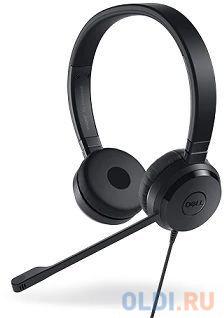 Гарнитура DELL UC350 черный 520-AAMC гарнитура