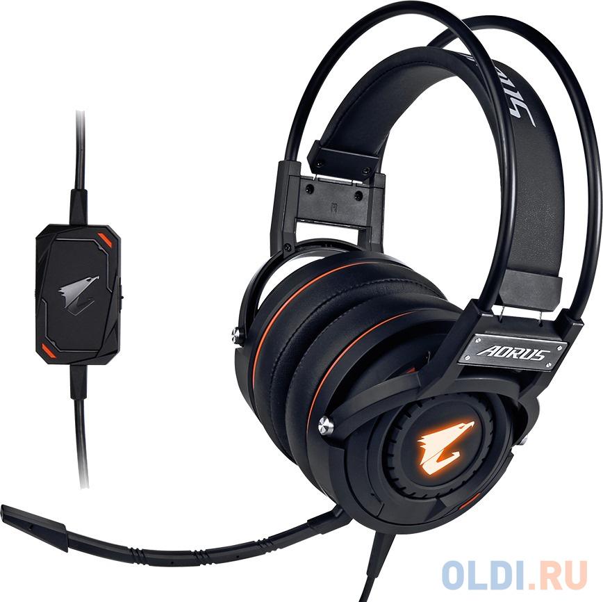 Гарнитура AORUS H5/USB HEADSET/CIR/MIC/B (GP-AORUS H5) RTL {5}.