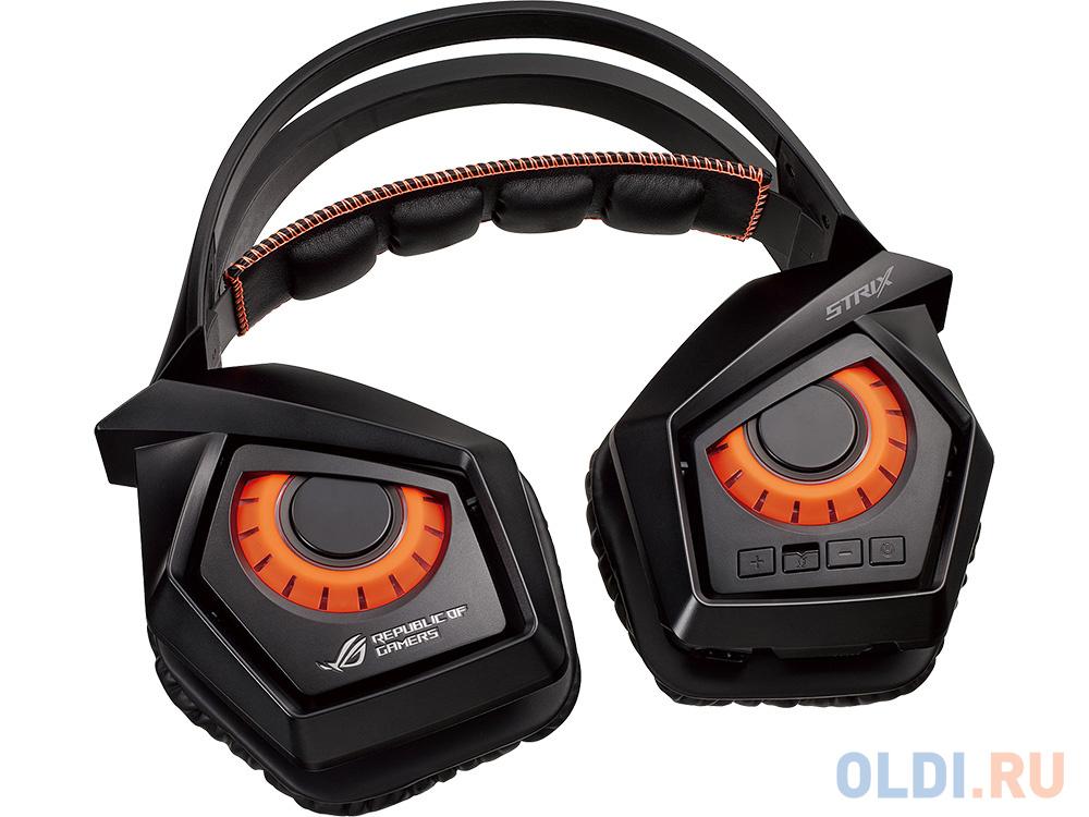 Гарнитура Asus ROG Strix Wireless черный 90YH00S1-B3UA00
