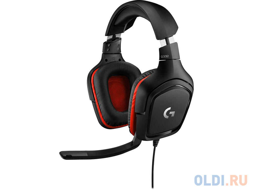 (981-000757) Гарнитура Logitech Gaming Wired Headset G332 Leatheratte гарнитура logitech headset zone wired uc 981 000875 серые