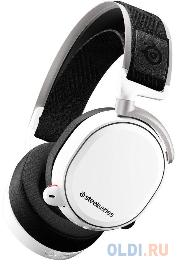 Игровая гарнитура беспроводная Steelseries Arctis Pro Wireless белый 61474