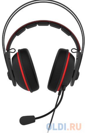 Гарнитура ASUS TUF GAMING H7 CORE RED