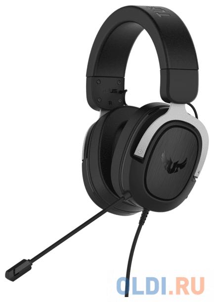Игровая гарнитура проводная ASUS TUF Gaming H3 черный серый 90YH025S-B1UA00