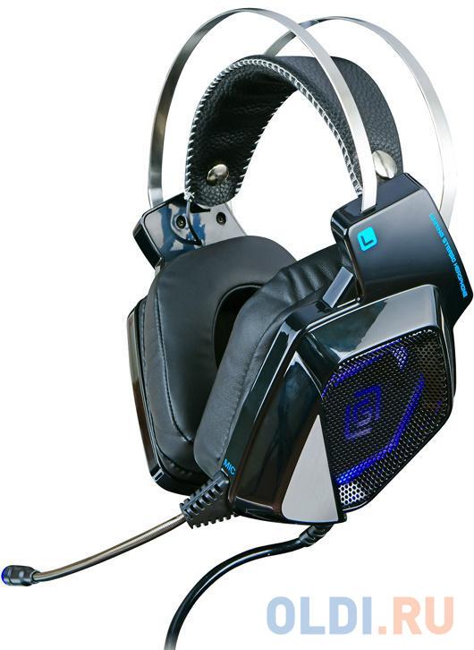 Наушники с микрофоном Oklick HS-L800G ALIEN черный 2.2м мониторы оголовье (HS-L800G)