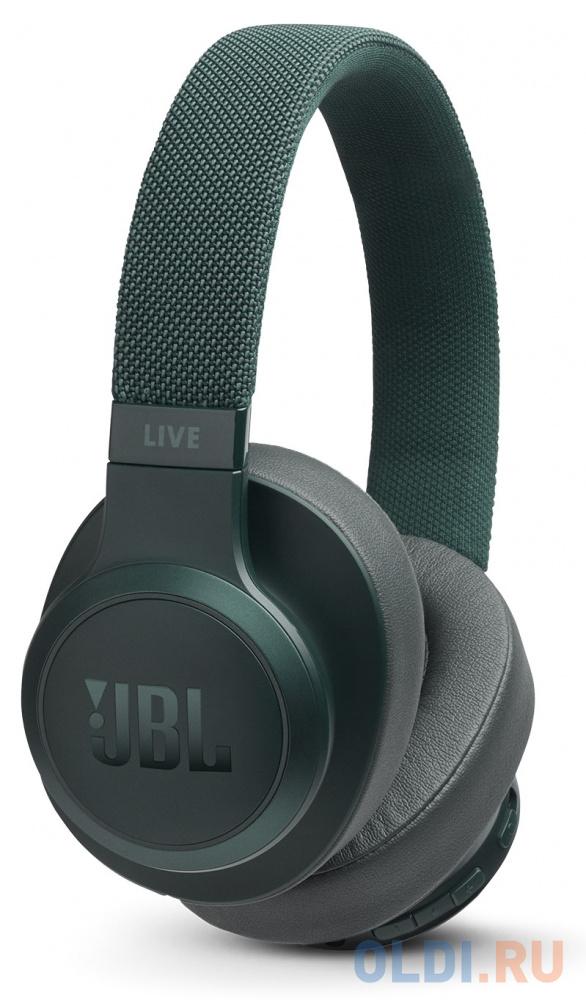 Наушники JBL Наушники беспроводные JBL Live 500 BT, зеленый