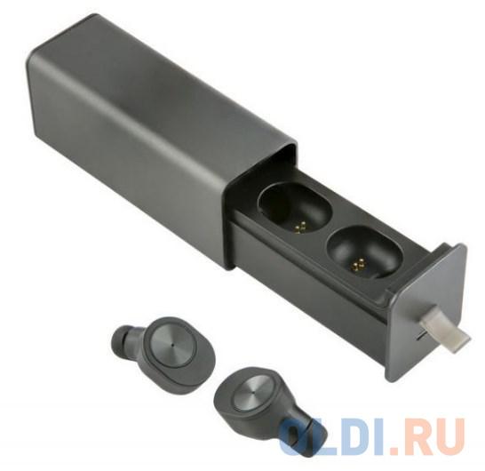 Гарнитура вкладыши Redline BHS-06 черный беспроводные bluetooth в ушной раковине (УТ000015413)