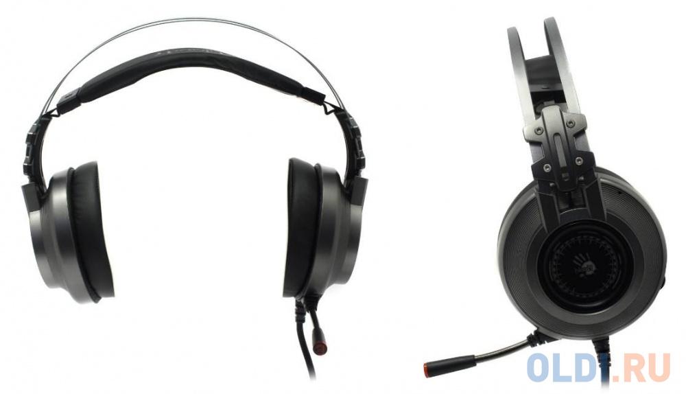 Игровая гарнитура проводная A4TECH Bloody J527 серый игровая гарнитура a4tech bloody g501 7 1