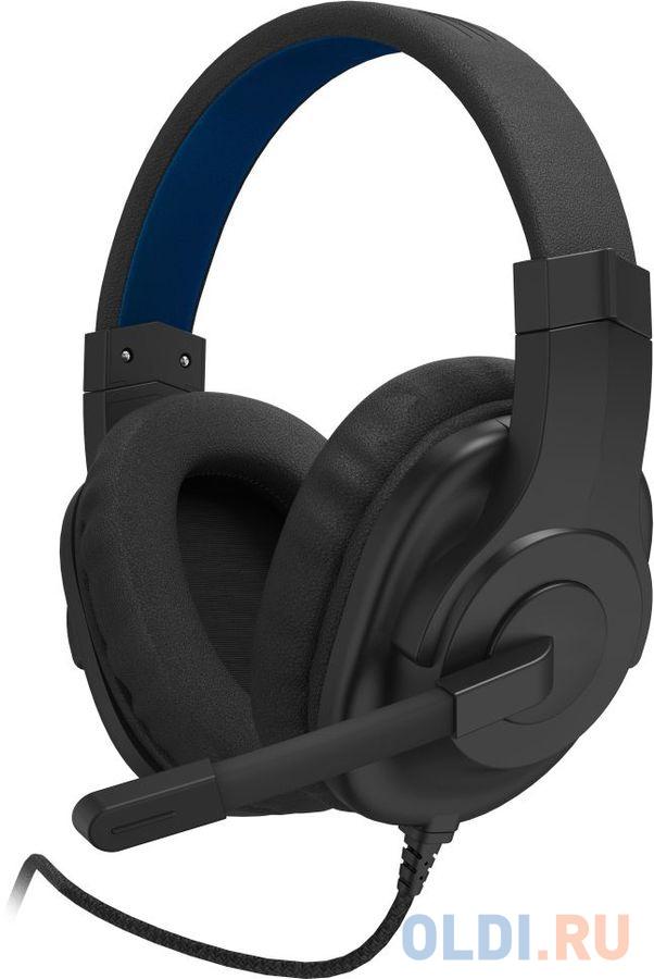 Наушники с микрофоном Hama uRage SoundZ 100 черный 2.20м мониторы оголовье (00186007)