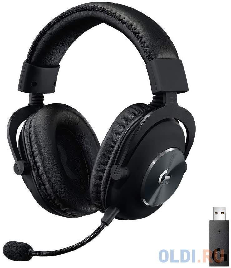 беспроводная гарнитура logitech wireless headset h600 981 000342 Игровая гарнитура беспроводная Logitech PRO X Wireless LIGHTSPEED Gaming Headset черный 981-000907