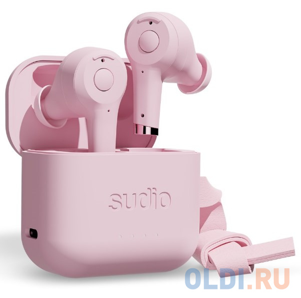 Наушники Sudio Ett. розовый