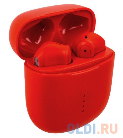 Беспроводные TWS наушники Rombica Mysound Factor. Цвет: красный.