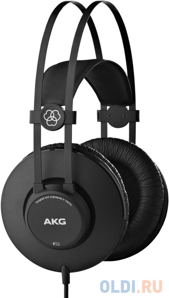 Наушники AKG Наушники AKG K52, черный наушники akg наушники akg k271 mkii черный