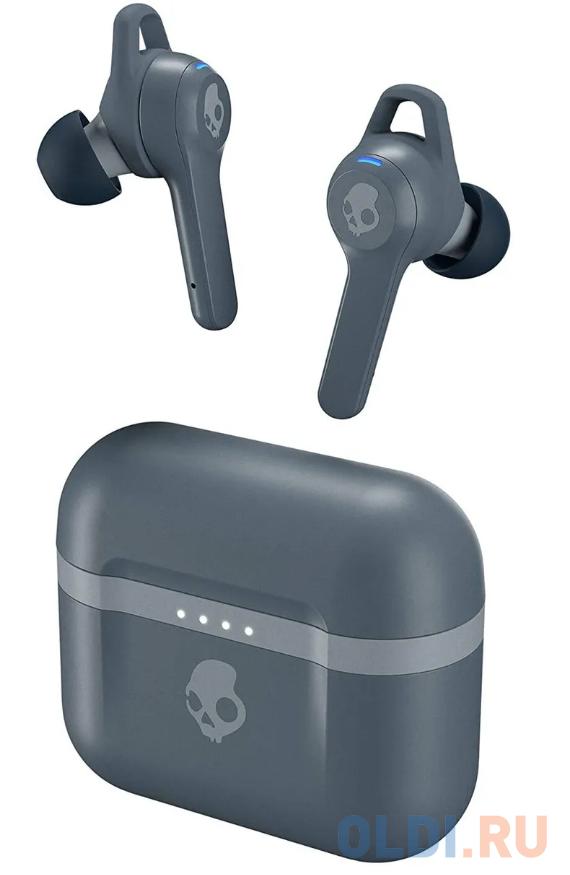 Наушники Skullcandy Наушники TWS беспроводные внутриканальные INDY EVO TRUE WIRELESS IN-EAR, серые