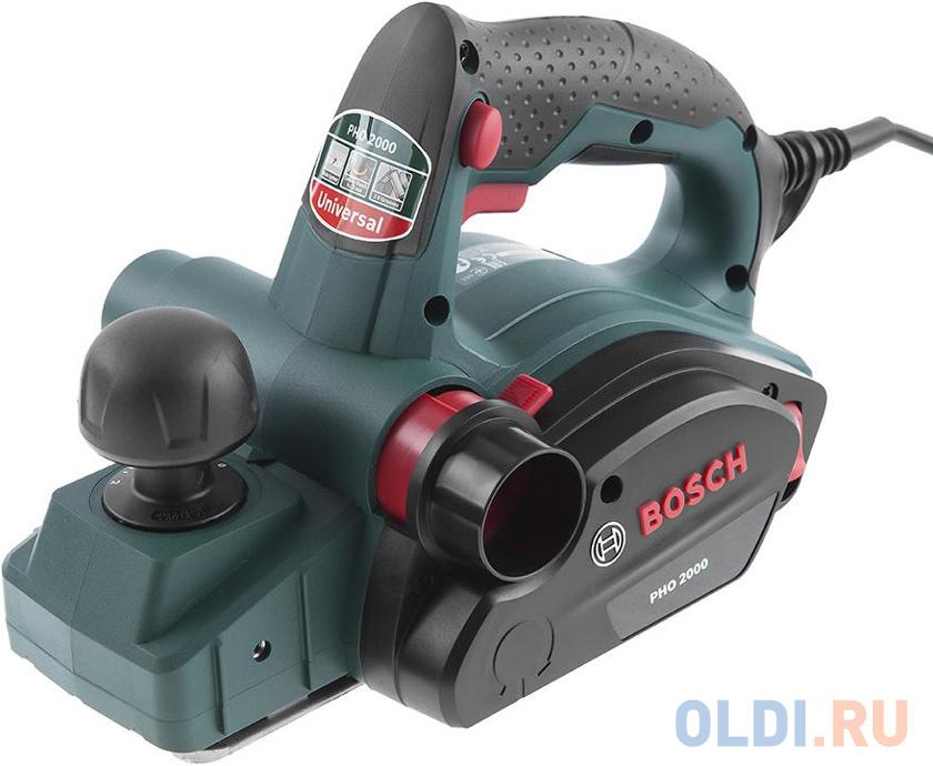 Рубанок Bosch PHO 2000 680Вт 82мм 06032A4120 рубанок bosch pho 3100 0 603 271 120