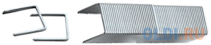 Фото - Скобы для степлера MATRIX 41142 скобы 12мм для мебельного степлера заостренные тип 53 1000шт скобы miles тип 53 12мм 1000шт n3 12mm