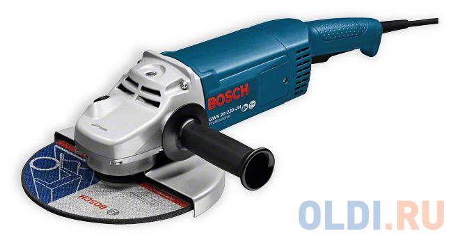 Угловая шлифмашина Bosch GWS 22-230 JH 2200Вт 230мм угловая шлифмашина bosch gws 26 230 lvi 0 601 895 f04