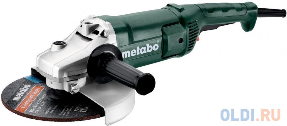 Углошлифовальная машина Metabo W 2200-230 230 мм 2200 Вт 606435010.