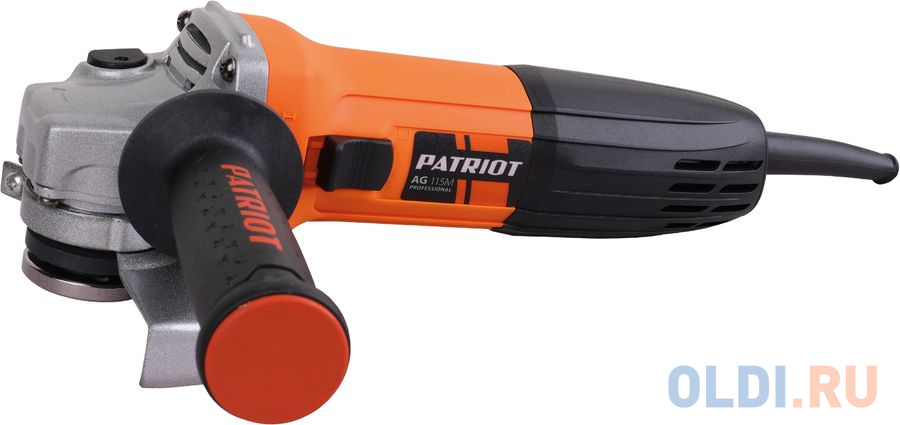 Углошлифовальная машина Patriot AG 115M 680Вт 11000об/мин рез.шпин.:M14 d=115мм углошлифовальная машина patriot ag 124