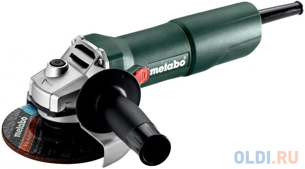 Углошлифовальная машина Metabo W 750-125 125 мм 750 Вт.