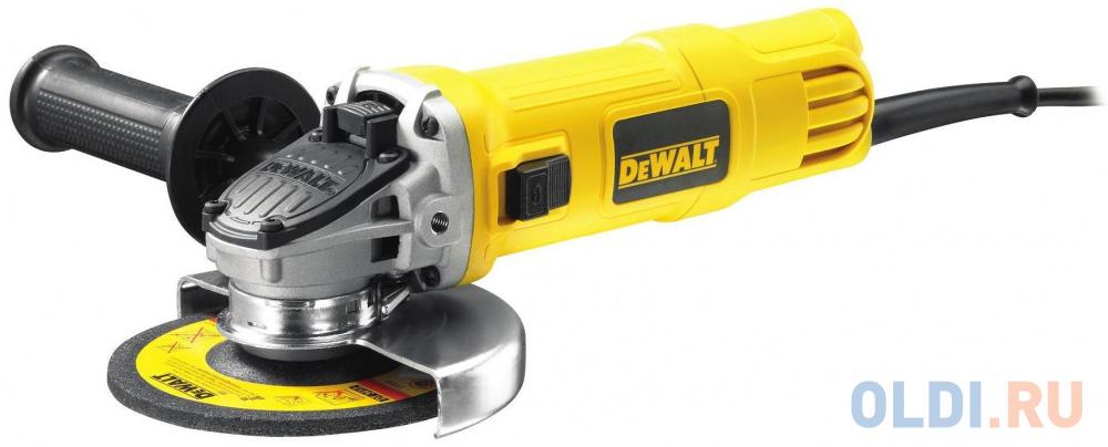 Углошлифовальная машина DeWalt DWE 4151 125 мм 900 Вт.