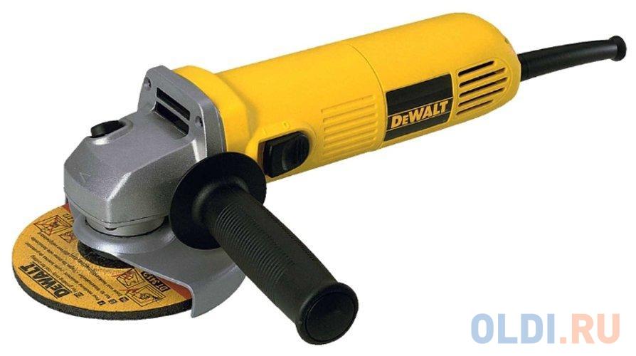 Углошлифовальная машина DeWalt DWE4015-KS 125 мм 730 Вт.