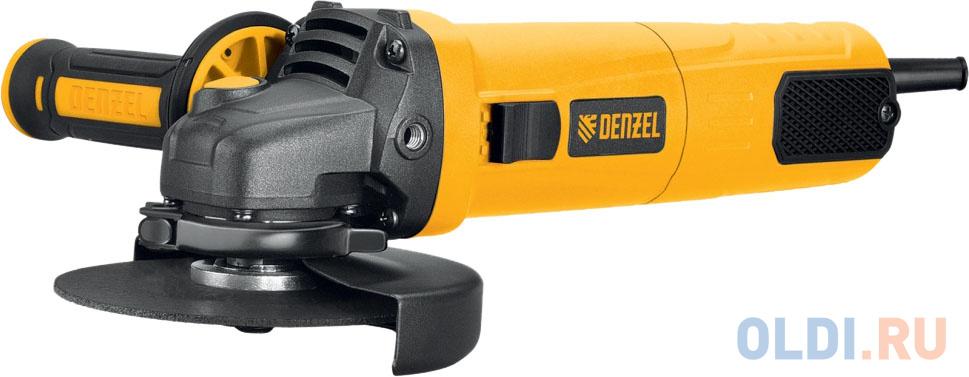 Машина шлифовальная угловая AG125-1100, 1100 Вт, 125 мм, 3000-11000 об/мин// Denzel
