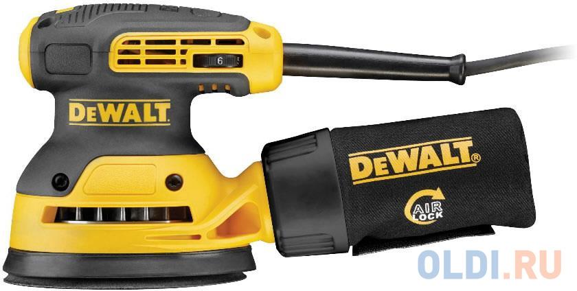 Эксцентриковая шлифмашина DeWalt DWE 6423 125 мм 280 Вт.