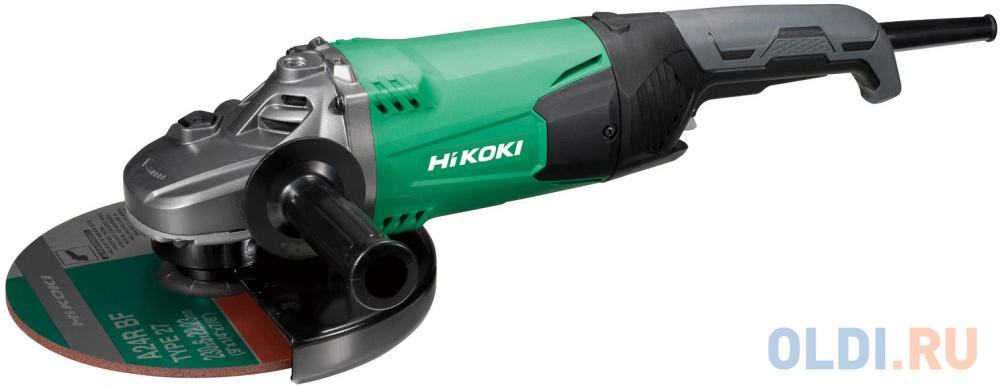 HIKOKI Машина углошлифовальная, 230 мм, 2200 Вт, улучшенная вентиляция, 5,1 кг