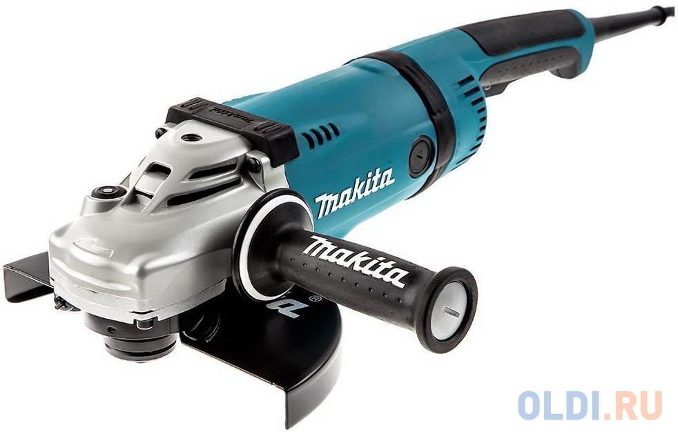 Углошлифовальная машина Makita GA9030F01 230 мм 2400 Вт углошлифовальная машина dewalt dwe4559 230 мм 2400 вт