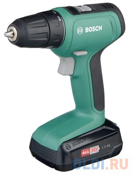 Фото - Дрель-шуруповерт Bosch UniversalDrill 18 аккум. патрон:быстрозажимной дрель шуруповерт bosch advanceddrill 18 06039b5006