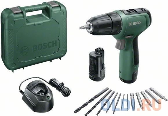 Фото - Дрель-шуруповерт Bosch EasyDrill 1200 аккум. патрон:быстрозажимной (кейс в комплекте) дрель миксер makita df333dwae аккум кейс в комплекте