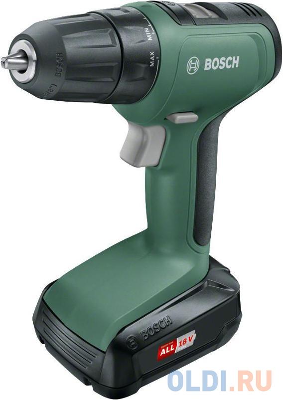 Фото - Дрель аккумуляторная Bosch UniversalDrill 06039C8001 набор bosch дрель аккумуляторная universaldrill 18 2акк и зу 06039c8005 рюкзак 1 619 m00 k04