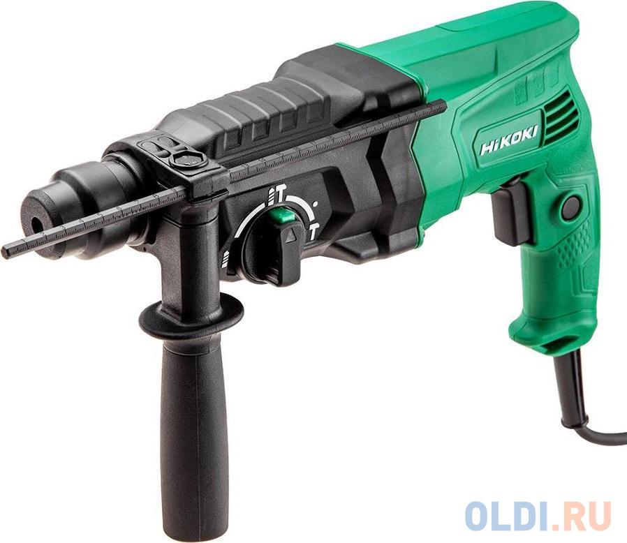 HIKOKI Перфоратор, SDS-Plus,? 24 мм, 730 Вт, 1050-3950 об/мин, ручка, кейс, глубиномер, 2,8 кг